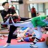 Bryan Salazar va por todo en Taekwondo.