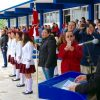 Abandera SEDENA-SNTE escuelas de Soto la Marina