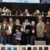 Entrega Gobernador premio en competencia internacional de ganado en Houston, Texas