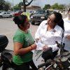 Recibe Bertha Vázquez, el respaldo de los habitantes de Monte Alto