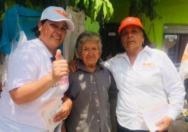 Quieren habitantes del Distrito 04, un Cambio Verdadero: KIKA Marín
