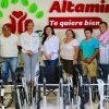 Artesanos independientes donan aparatos funcionales a DIF Altamira