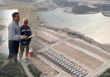 Supervisa Gobernador construcción de viviendas para pescadores en Matamoros