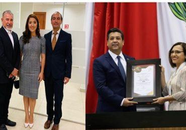 """Asiste Diana Chavira Martínez a la entrega de la medalla al mérito """"Luis García Arellano"""""""