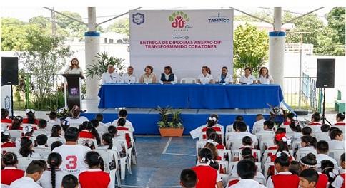 Positivos Resultados Presenta Programa Educativo del Sistema DIF Tampico y ANSPAC