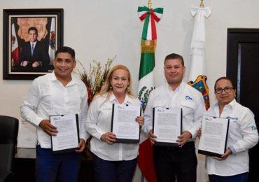 Gestiona Alma Laura Amparán millonaria inversión para obras de infraestructura hidráulica y vivienda