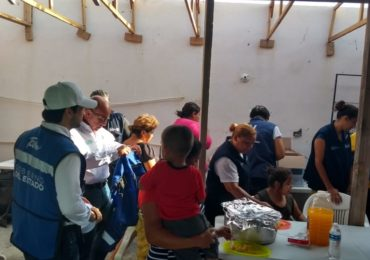 Continúa atendiendo Gobierno de Tamaulipas a familias afectadas por lluvias