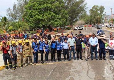 Realizan simulacro de incendio en la UAT Campus Tampico