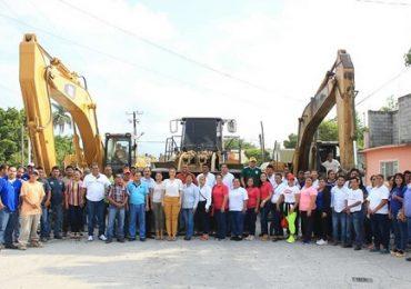 Pone en marcha la alcaldesa Noemy González Márquez un importante paquete de obra pública en Xicoténcatl