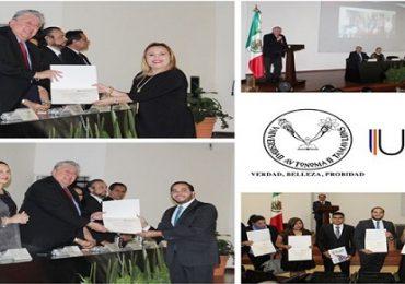 Entrega UAT en Tampico nueva generación de la Maestría en Fiscal