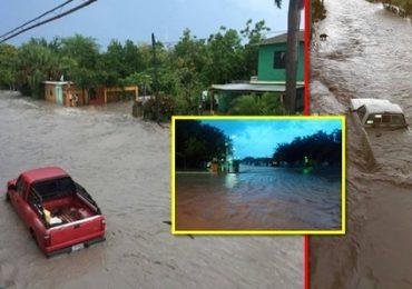 Colonias de González y Manuel bajo el agua