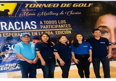 Concluye con éxito 1er. Torneo de Golf UNT