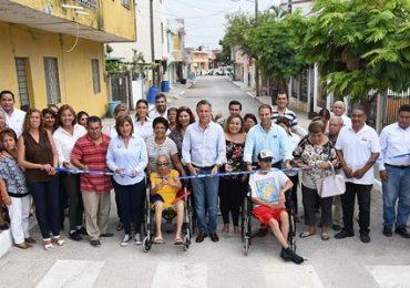 Tampico Brilla con Más Calles Pavimentadas