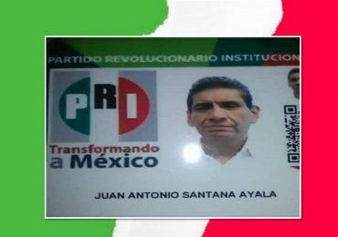 Juan Antonio Santana hace llamado a la unidad para que el PRI resurja