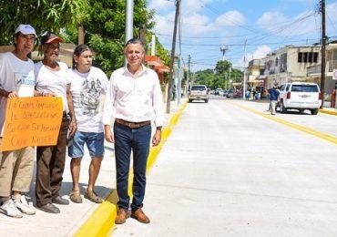 Con el Respaldo del Gobernador, Tampico se Moderniza: Chucho Nader