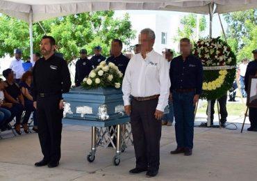 Realizan homenaje a policía caído en cumplimiento del deber