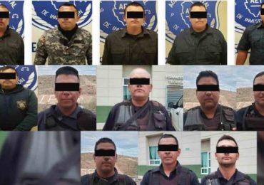 Detienen a toda una comandancia por proteger a narcos