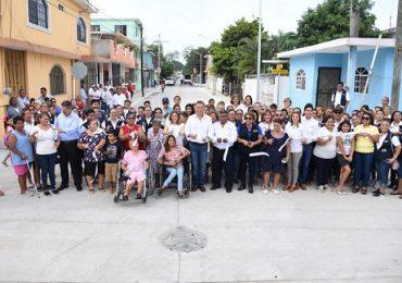 Moderniza Chucho Nader las Vialidades de la Colonia Morelos
