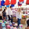 Recorre Alma Laura Amparán Feria de Regreso a Clases 2019
