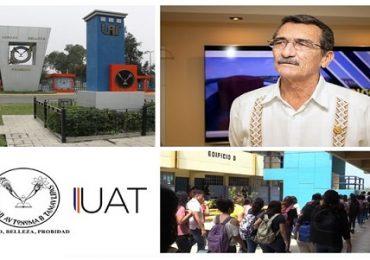 Rector ofrece mensaje de bienvenida a estudiantes de la UAT