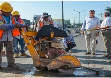 Mantienen Programa Permanente de Bacheo en toda la Ciudad