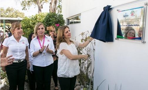 Inaugura Aida Feres de Nader una Nueva Casa Club del Adulto Mayor