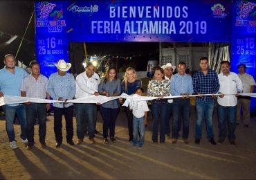 Inaugura Alma Laura Amparán Feria Altamira 2019