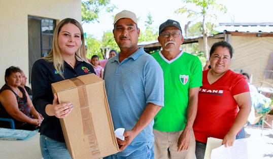 DIF Altamira beneficia a familias del área rural con filtros purificadores de agua