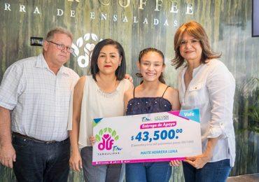DIF Tamaulipas y Winner Coffee y sociedad civil cumplen los sueños de deportistas Tamaulipecos.