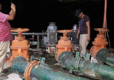 Por fallas en el sistema eléctrico familias se quedan sin en gua en Limón, Comapa Mante resuelve l fallas