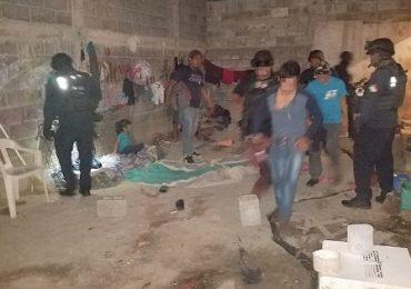 Rescata Policía Estatal a 26 migrantes.