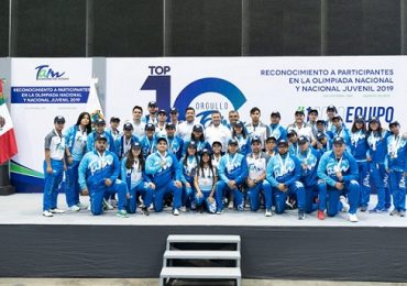 Reconoce Gobernador a deportistas de la Olimpiada Nacional 2019