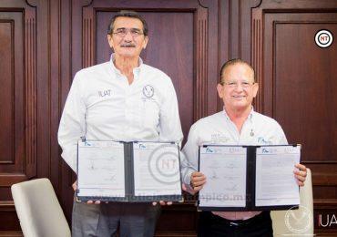 Reafirman la UAT y el ITEA colaboración para el servicio social universitario
