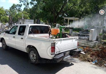 Buscan Tener Cementerios Porteños Limpios para Festividades de Día de Muertos