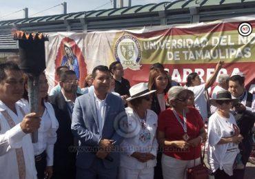 Carrera Antorcha Guadalupana México-Nueva York 2019, deja territorio mexicano