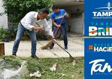 Encabeza Chucho Nader Nueva Jornada de Limpieza en el Sector Infonavit