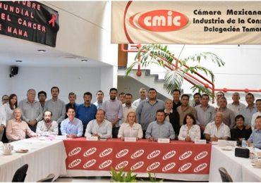 Reconoce CMIC a Altamira como punta de lanza de Tamaulipas