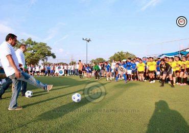 Inauguran la Copa DIF Te Quiere Bien