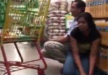 Confíen en Dios: Rezan en supermercado durante balacera en Culiacán