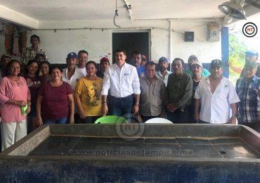 Piden Pescadores a Miguel Gómez Gestionar Recursos para Dragado.