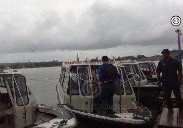 Advierte Capitanía de Puertos a marinos y pescadores por vientos de hasta 100 k/h