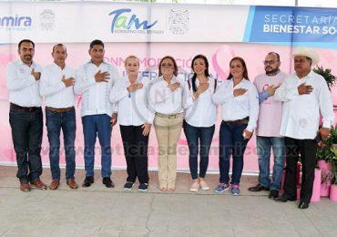 "Encabeza Alma Laura Amparán la ""Feria Rosa"""