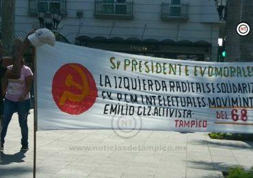 Apoya desde de Tampico a ex presidente de Bolivia