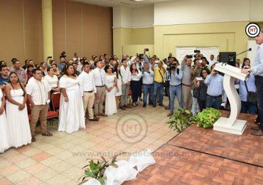 Se casan 72 Parejas en la Campaña de Matrimonios Colectivos