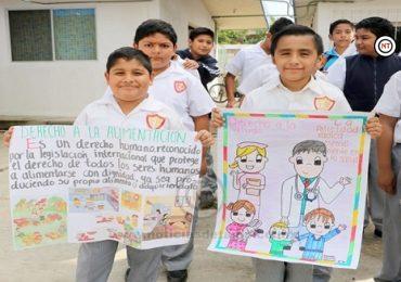 Inaugura DIF Madero red de niños y niñas difusores de derechos