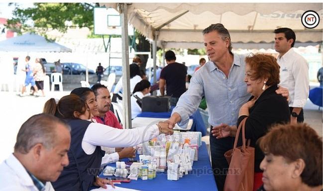 Encabeza Chucho Nader Nueva Jornada Médico Asistencial
