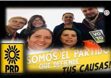En el PRD Tamaulipas hoy caminamos en unidad: Patricia Gutiérrez