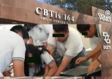 CBTis 164 de Madero 'oculta' riña Femenil…