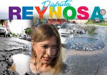 CALLES Y COLONIAS DE REYNOSA DE MAL EN PEOR, PERO MAKI, ESO NO LO VE, PORQUE VIVE EN MISIÓN.