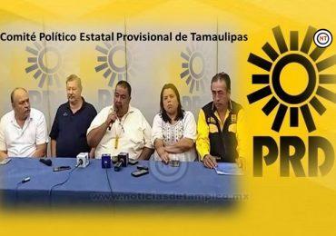 Rendirá protesta El Dr. Armando Valenzuela como líder provisional del PRD en Tamaulipas